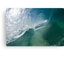 Hollow wave Canvas Print