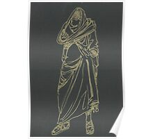 greek statue of a headless man Poster