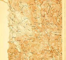 Maine USGS Historical Map Rumford 807655 1927 48000 by wetdryvac