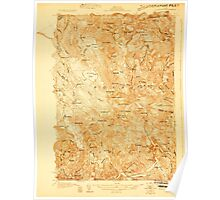 Maine USGS Historical Map Rumford 807655 1927 48000 Poster