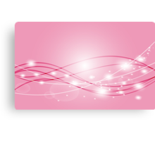 Colorful pink beautiful abstract Background  Canvas Print