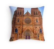 St Mary's Cathedral - HDR Throw Pillow