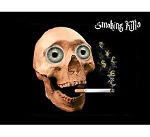 smoking kills Photographic Print