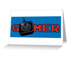 Gamer Greeting Card