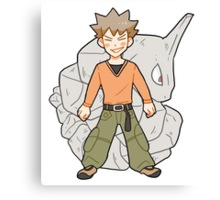 Brock Canvas Print