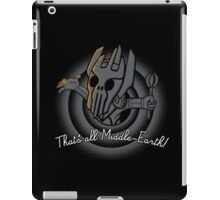That´s all Middle Earth! iPad Case/Skin