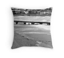 Elwood Beach Throw Pillow