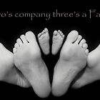 Two&#x27;s company three&#x27;s a Family by Ralph  Meznar