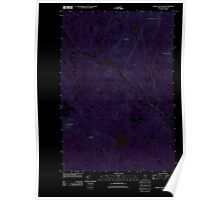 Maine USGS Historical Map Russell Mountain 20110906 TM Inversion Poster