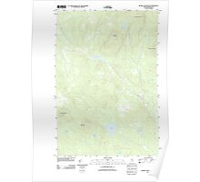 Maine USGS Historical Map Russell Mountain 20110906 TM Poster