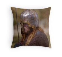 Medieval Man Throw Pillow