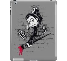 Banksy Clinger - Wall Art iPad Case/Skin