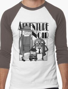 Adventure Noir Men's Baseball ¾ T-Shirt