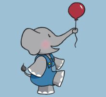 The Elephant and his Balloon by Sarah Mokrzycki