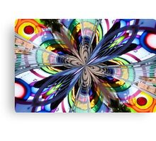 Carnival Explosion Canvas Print