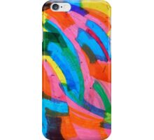 untitled (Blue and Yellow) iPhone Case/Skin