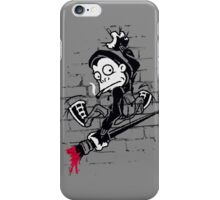 Banksy Clinger - Wall Art iPhone Case/Skin