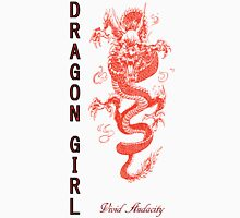 DRAGON GIRL Womens Fitted T-Shirt