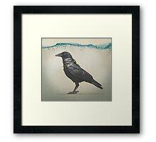 Raven Band Framed Print
