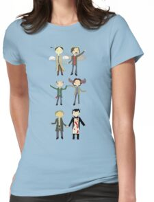 Paper Dolls Womens Fitted T-Shirt