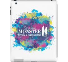 Lonely Monster iPad Case/Skin