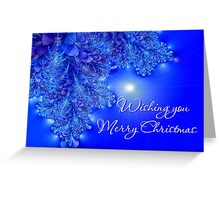 Wishing You Merry Christmas Greeting Card