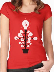 Ideas Grow Women's Fitted Scoop T-Shirt