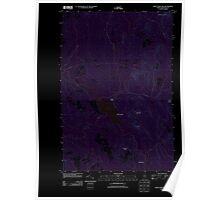 Maine USGS Historical Map Saint Croix Lake 20110909 TM Inversion Poster