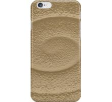 Abstraction clay spiral iPhone Case/Skin