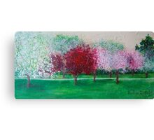 Parkland Blossoms Canvas Print