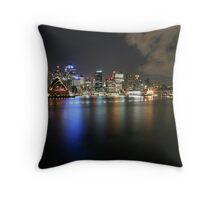 Sydney Opera House and CBD Throw Pillow