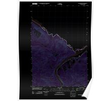 Maine USGS Historical Map Saint Francis 20110831 TM Inversion Poster