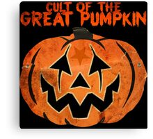 Cult of the Great Pumpkin: Mask Canvas Print