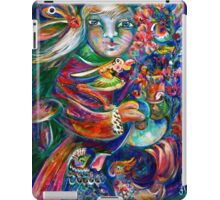 Orphan Child with Flowers iPad Case/Skin