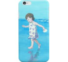Little Beach Girl iPhone Case/Skin