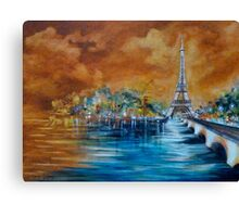 Impressions of Paris Canvas Print