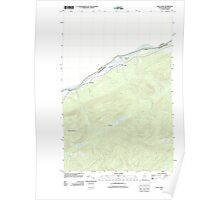 Maine USGS Historical Map Saint John 20110831 TM Poster