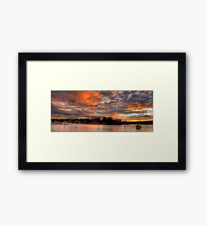 Westerly - Newport - The HDR Series Framed Print