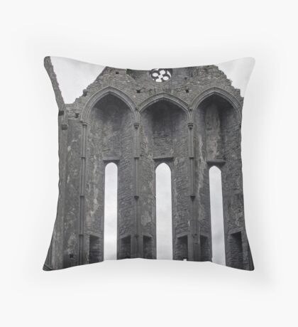 Windows to the Sky Throw Pillow