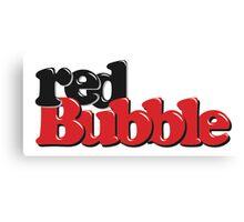 RedBubble Logo Canvas Print