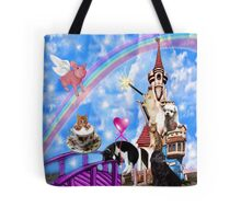 WHIMSICAL PLAYFUL ANIMALS FUN TOTE BAG - DECORATIVE PILLOW-TRAVEL MUGS-PICTURE ECT Tote Bag