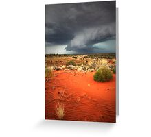 Chasing the storm... Greeting Card