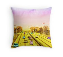 All american freeway Throw Pillow