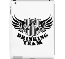 Drinking Team iPad Case/Skin
