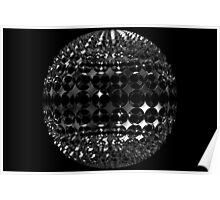 Sphere with holes Poster