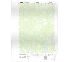 Maine USGS Historical Map Saint John Pond Depot 20110906 TM Poster