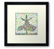 THE WHIRLING SUFI Framed Print