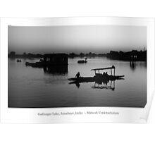 Gadisagar Lake, Jaisalmer, India Poster