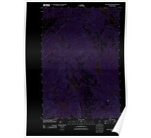 Maine USGS Historical Map Saint John Ponds 20110906 TM Inversion Poster