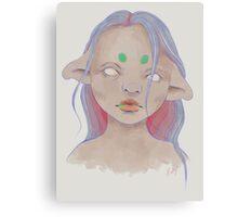 Drooler Canvas Print